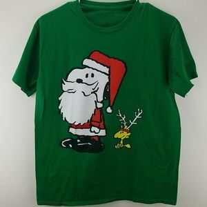 Peanuts Christmas T Shirt